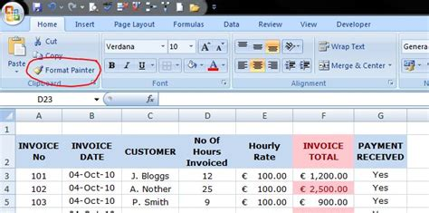 format painter in excel 2007 how to conditionally format a cell in excel 2007