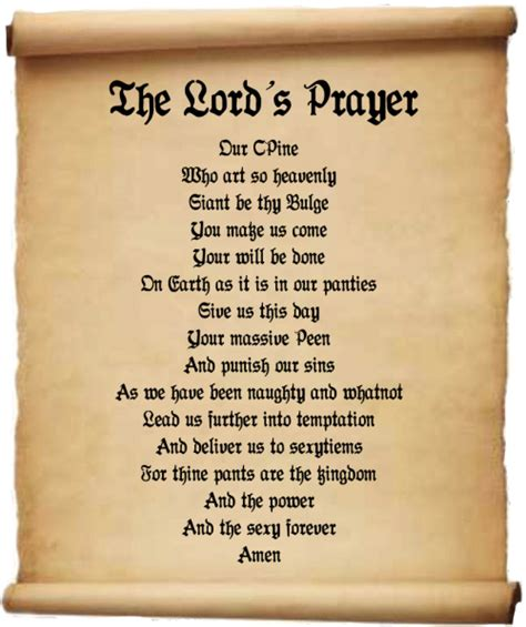 The Lord Prayer the gallery for gt the prayer kjv