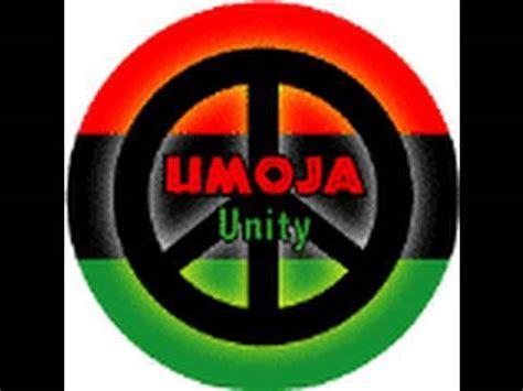 kwanzaa day 1 umoja unity youtube