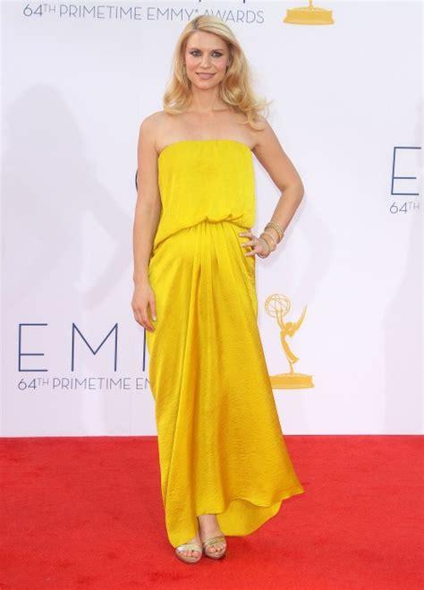 claire danes yellow dress best bump style claire danes