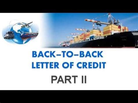 Letter Of Credit With Pre Shipment Finance pre shipment finance and post shipment credit doovi