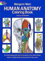 anatomy coloring book barnes and noble human anatomy coloring book by margaret matt joe ziemian