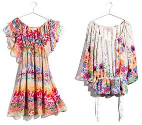 figli dei fiori abbigliamento carnevale garden collection h m