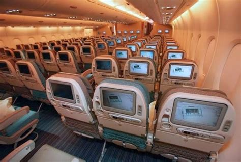 A380 Plane Interior by Airbus A380 Interior Picture From Singapore Airlines