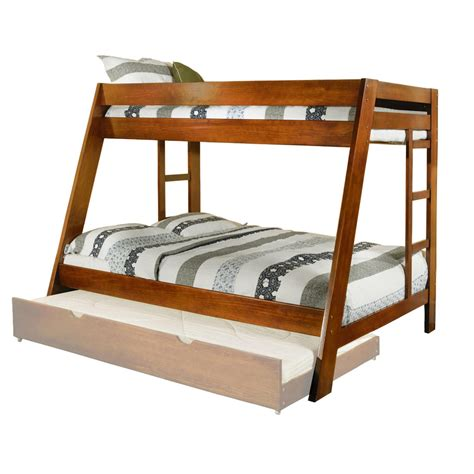 oak twin bed venetian worldwide arizona twin over full bunk bed oak