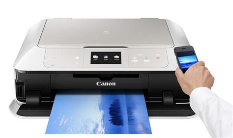 Printer Baru pixma mg7570 printer baru yang di liris oleh canon smartphone gadget tablet android ios