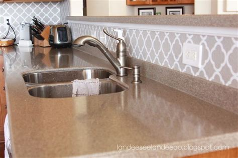 vinyl kitchen backsplash kitchen backsplash pantry or bathroom upgrade vinyl quatrefoil des