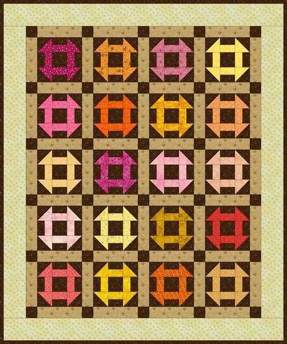 quilt pattern monkey wrench baby monkey wrench quilt pattern sewing fabric pinterest