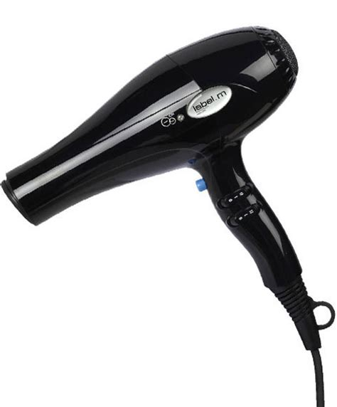 Ego Tourmaline Hair Dryer hair dryers label m ceramic tourmaline dryer black