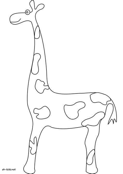 Dessin 1584 Coloriage Girafe 224 Imprimer Oh Kids Net
