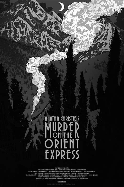 Murder on the Orient Express on Behance