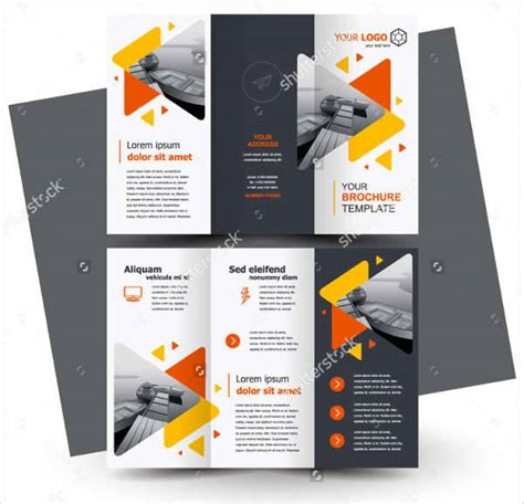 leaflet design trends printable brochures design trends premium psd vector