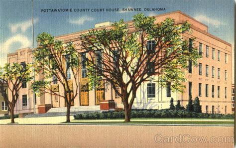 Pottawatomie County Court Records Pottawatomie County Court House Shawnee Ok