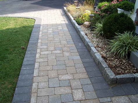 Design Ideas For Brick Walkways Best Pavers For Walkway Paver Walkway Ideas Brick Paver Walkway Designs Interior Designs