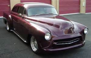 customized 1952 chevrolet coupe