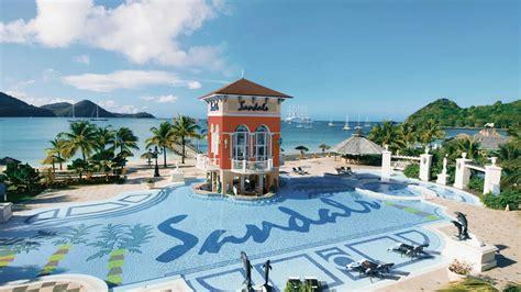 sandals grande st lucia restaurants sandals grande st lucian spa resort facilities
