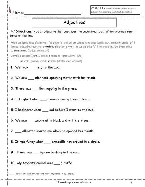 printable worksheets grade 2 english grade english worksheets st place value printable