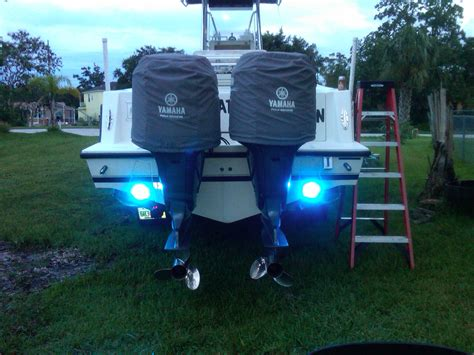 yamaha boat lights underwater light and where do you install it the hull