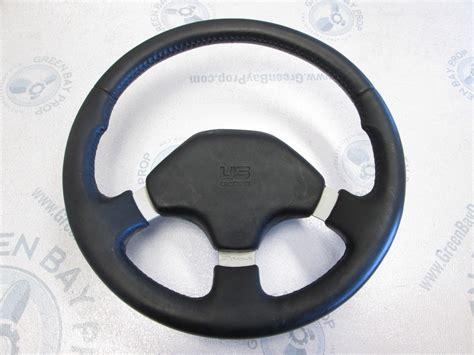 dino boat steering wheel bayliner capri dino black grip boat steering wheel ebay