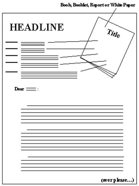letter page layout letter layout format
