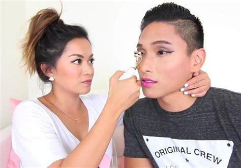 mothers giving feminine makeovers to sons die besten 17 bilder zu boy makeovers auf pinterest