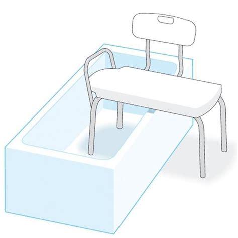 sedile per vasca da bagno sedile di trasferimento da vasca o da doccia