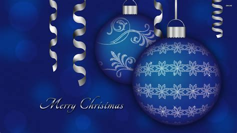 blue christmas decorations wallpaper 729765