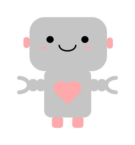 imagenes de robots kawaii kawaii robot vector clipart image free stock photo
