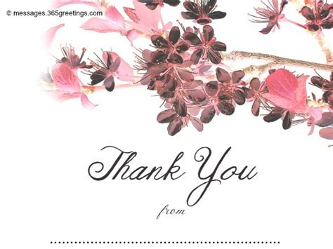 beautiful thank you card template wedding thank you card template 365greetings