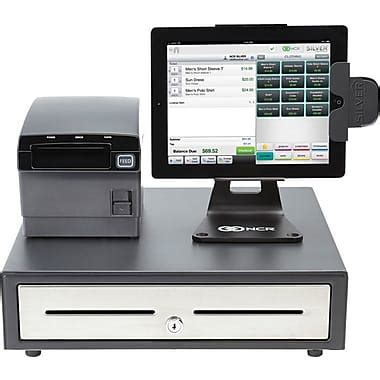 NCR Silver POS Cash Register System for iPad®   Staples