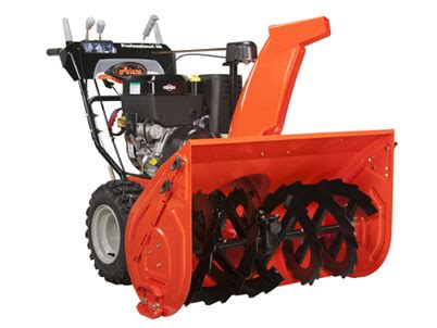 ariens snow thrower ariens professional series 28 inch 2