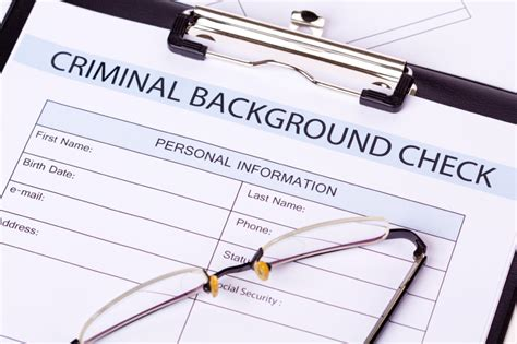 Effect Of Criminal Record On Employment Background Checks Images