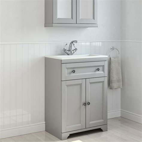 Bathroom Sink And Cupboard Bathroom Cabinets Furniture Bathroom Storage Diy At B Q