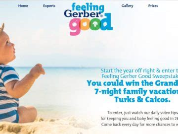 Good Sweepstakes - feeling gerber good sweepstakes