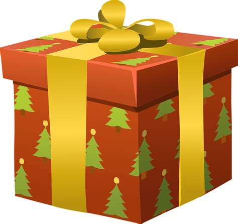 clipart xmas presents free vector graphic presents wrapped gifts christmas