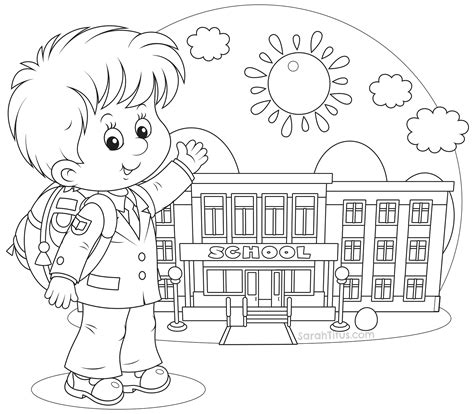 coloring page school back to school coloring pages sarah titus