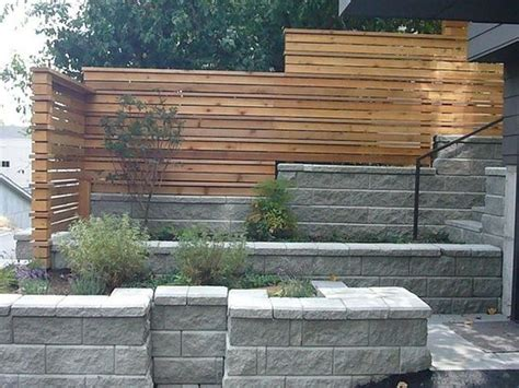 Modern Retaining Wall | modern retaining walls google search outside bliss