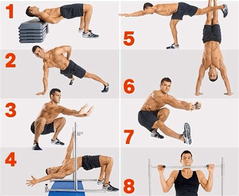 how to build the bodyweight workout
