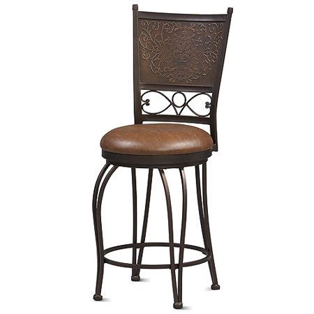 24 high counter stools salina etched back 24 quot high counter stool walmart