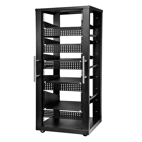 Rack System by Peerless 30u Av Component Rack System Black Avl
