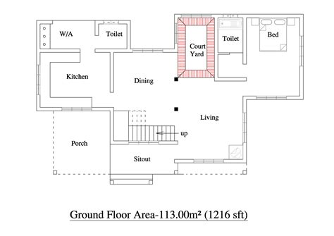 house building floor plans kerala building construction 2000 sqft 3bhk house plan kerala home floor plans with photo