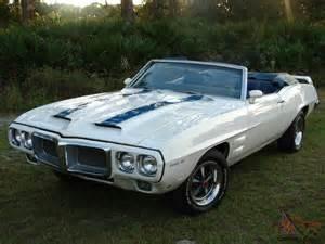 1969 Pontiac Trans Am For Sale 1969 Trans Am Convertible Clone