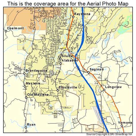 Alabaster L by Aerial Photography Map Of Alabaster Al Alabama
