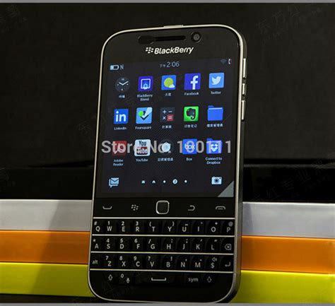 Hp Blackberry Ram 2gb original blackberry classic blackberry q20 mobile phone 2gb ram 16gb rom 8mp unlocked