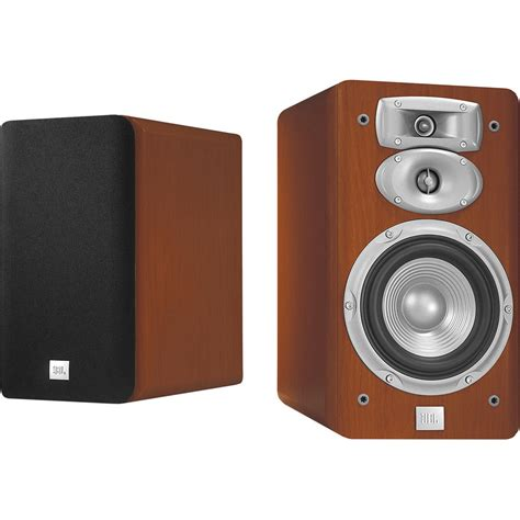 jbl l830 3 way 6 quot bookshelf speakers pair cherry