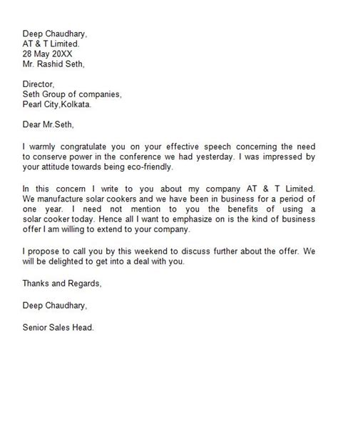 Draft Introduction Letter Company how to write a business introduction letter sle howsto co