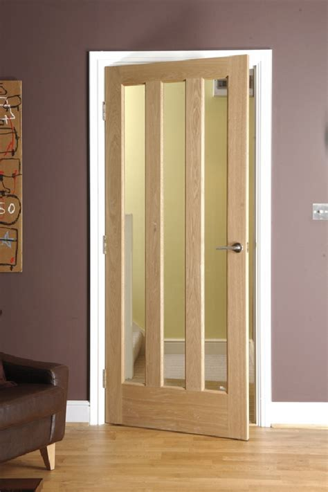 Wood Interior Doors With Glass Homeofficedecoration Exterior Wood Doors With Glass