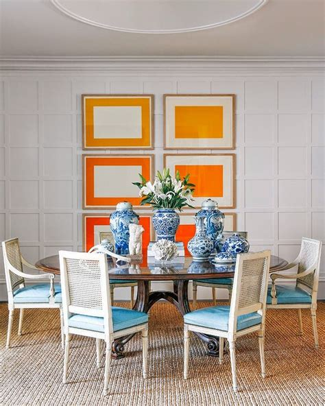 1000 ideas about orange dining room on orange