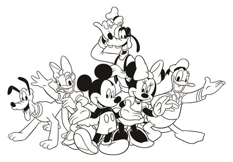 printable coloring pages mickey mouse clubhouse mickey mouse clubhouse coloring pages coloring pages
