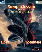 pc themes wap in spaiderman 3 k800i mobile themes for sony ericsson w800